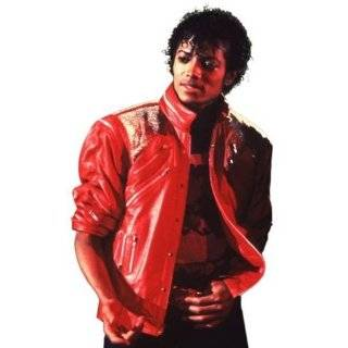 Michael Jackson Red Beat It Jacket Clothing