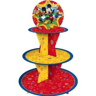 Wilton Mickey Mouse Clubhouse Cupcake Stand Kit Kitchen