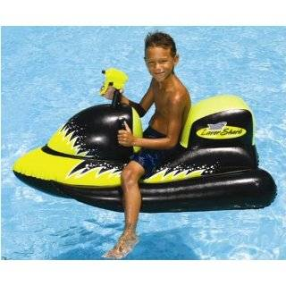 Kid Inflatable Jet Ski Floating Pool Ride On Toy Toys