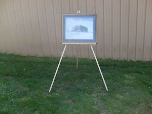 "Large Artist Easel 24"" Tray 2""Wide Display Easel Art Supplies Painting Easel New"