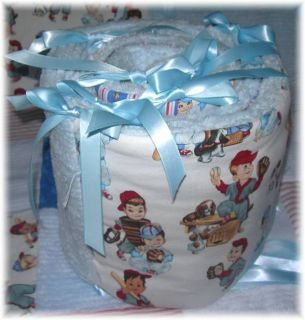 Vintage Baseball Kids Baby Boy Crib Quilt Bedding Blue