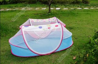 Portable Foldable Baby Kids Bed Crib Pop Up Canopy Mosquito Net Play Tent House
