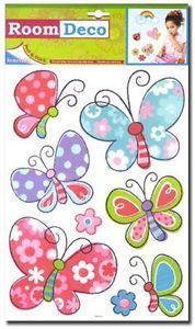 Nursery Childrens Kids Girls Bedroom Butterfly Wall Furniture Stickers Decals