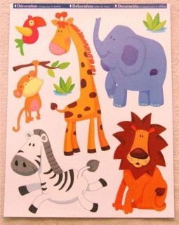 Nursery Girls Kids Boys Childrens Bedroom Jungle Animal Wall Furniture Stickers