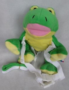 "15""New Frog Baby Toddler Kids Keeper Safety Harness Backpack Strap Bag"