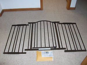 "Summer Infant Baby Pet Safety Gate Extra Tall Wide 44 72"" 6 ft Walk thru Metal"