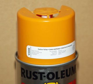 6 Can Rust Oleum Inverted Marking Striping Aerosol Spray Paint 20oz 7 Colors New