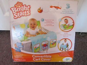 Bright Starts Convertible Cart Cover Play Mat High Chair Cover