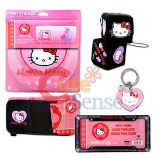 Hello Kitty 12pc Car Truck Seat Covers Accessories Set