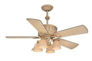 Hampton Bay TORRINGTON 52 inch Ceiling Fan with Light Kit Remote Cottage Wood