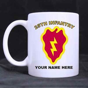 25th Infantry Division Personal Coffee Mug