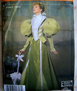 Simplicity Sew Pattern 4156 Victorian Steampunk Historical Costume Dress 14 20