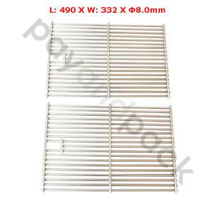 PayandPack Jenn Air BBQ Gas Grill Stainless Steel Rod Cooking Grate 563S2 2pk