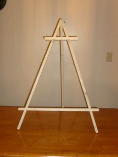 Large Artist Easels Display Easel Art Supplies Tripod Floor Easel Wooden Oil