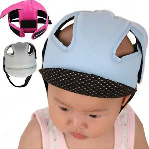 6 Colors Baby Boys Girls Toddler Safety Helmet Headguard Hats Cap No Bumps