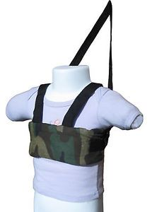 New Baby Toddler Walking Safety Harness Soft Dark Green Camo