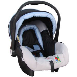 Baby Carrier Auto Car Safety Carrier Vehicle Mounted Saftey Seat Blue