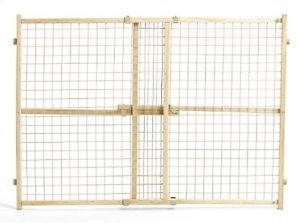 Midwest Wire Mesh Adjustable Security Safety Gate Baby Infant Toddler Pet