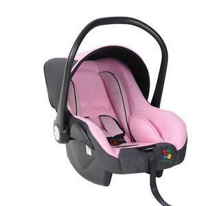 Baby Carrier Auto Car Safety Carrier Vehicle Mounted Saftey Seat Pink