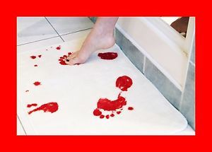 Blood Bath Bathroom Mat Rug