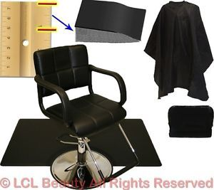 Hydraulic Barber Chair Styling Hair Anti Fatigue Mat Beauty Spa Salon Equipment