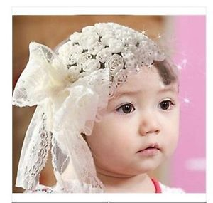 Baby Hair Band Baby Girls Hair Accessories Lace Flower Butterfly Knot Rose Headd