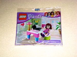 RARE Lego Friends Set 30102 Olivia's Room Work Desk New in SEALED Package