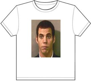 Steve O Mug Shot T Shirt Tee Picture Photo MUGSHOT Jackass Wildboyz Funny 886