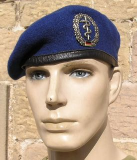 German Army Medic Blue Beret Badge