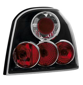VW Golf 3 MK3 III Design Tail Lights Black 1