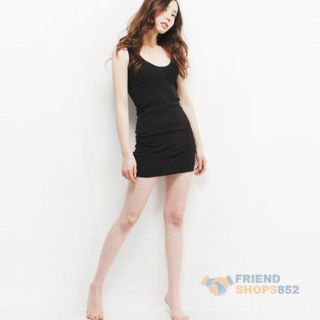 Fashion Sexy Women Girls Long Condole Belt Vest Sleeveless Tank Top T Shirt F8S