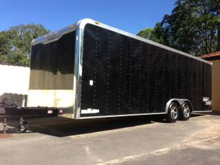 Haulmark Race Car Trailer 24ft Long Hardly Used