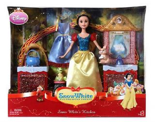 Disney Princess Snow White Doll Kitchen Playset Gift Set Toy by Mattel 3