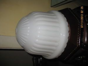 Art Deco Milk Glass Shade
