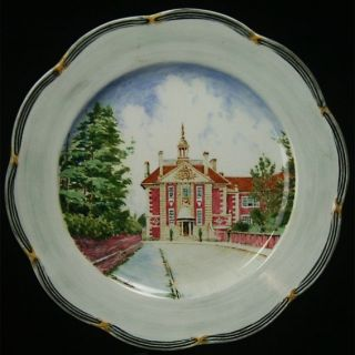 Antique Adderley Spencer Edge Oxford China Plate Set X