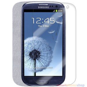 3 Anti Glare Anti Fingerprint Screen Protector 4 Samsung Galaxy S3 SIII I9300