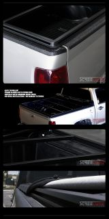 Hidden Snap Tonneau Cover 2004 2013 Ford F150 Styleside Cab 6 5 ft Truck Bed