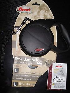 Flexi Durabelt Retractable Belt Leash 16ft Extra Strong for Large Dogs 150 Lbs