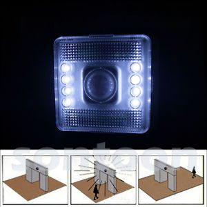 8 LED Battery Operated Motion Sensor Home Indoor Lighting Light Lamp
