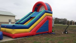 16ft Dry Slide Inflatable Bounce House Jumpy Slide