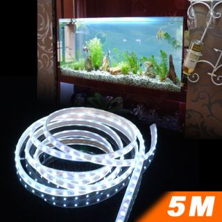 New 5M 16ft 3528 300LED Waterproof Aquarium Home Garden Car Party String Lights