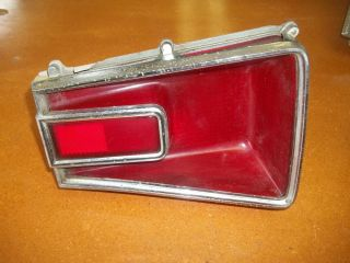 1966 66 Dodge Coronet Right Rear Tail Light Lamp Used