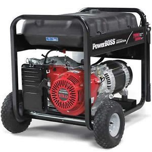 Mint Honda Powerboss Portable Generator Electric Start GX390 Engine 030359