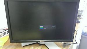 "Dell E1909W 19"" Flat Panel Widescreen LCD Monitor Good Condition Tested Working"