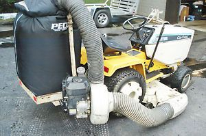 Peco Lawn Vacuum System for Wide Frame Cub Cadet Garden Tractors and Supers Too