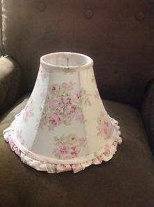 Rachel Ashwell Simply Shabby Chic Floral Ruffled Lamp Shade