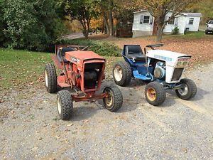 Ford 80 and Jacobsen Hydro 1200 Lawn Garden Tractors Mower Lgt