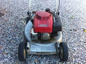 Honda HR 194 PX Push Lawn Mower Engine Complete for Parts or Overhaul Free SHIP