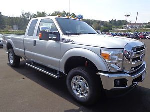 New 2014 F250 Super Duty XLT Supercab FX4 Off Road 8 Foot Bed V8 4x4 Rear Camera