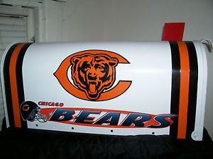 NFL Chicago Bears Custom Mailbox Jersey Hats Cubs Bulls White Sox